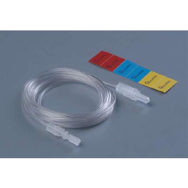Pressure Monitoring Line PE Tube M F Connector 10 Cm