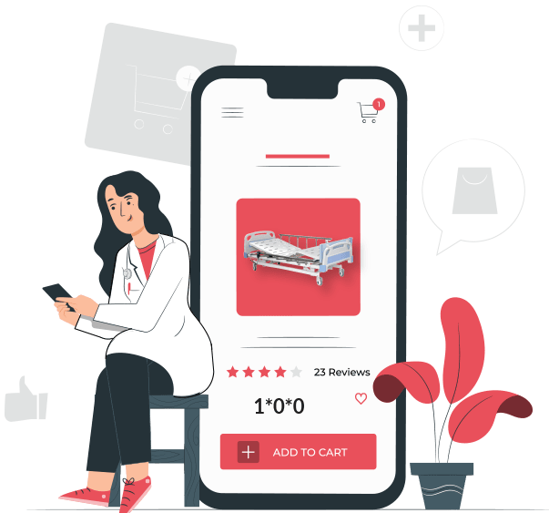 Welcome to India's most trusted Online Medical Supply Store