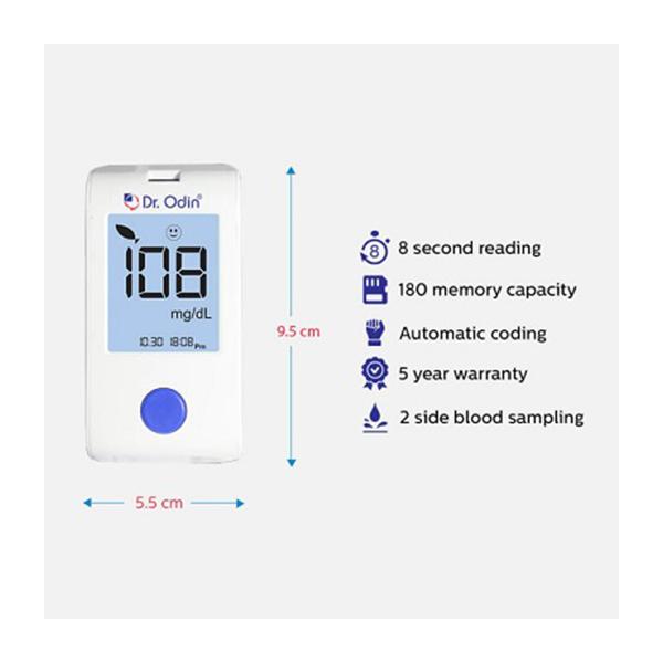 Blood Glucose Monitoring System GOD Meter Only 1 1
