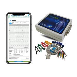 Hospitronics Tele ECG Patient Monitor Machine ET U12