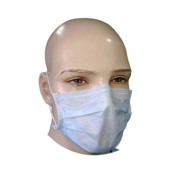 M 212 3 PLY SURGICAL MASK WITH MELTBLOWN FILTER LAYER PACK OF 50 PCS 3 2