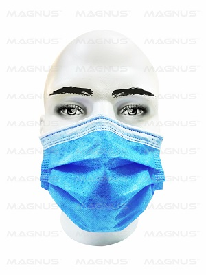 Disposable 3 Ply Surgical Mask with Meltblown Filter Layer for Hospital and Clinics