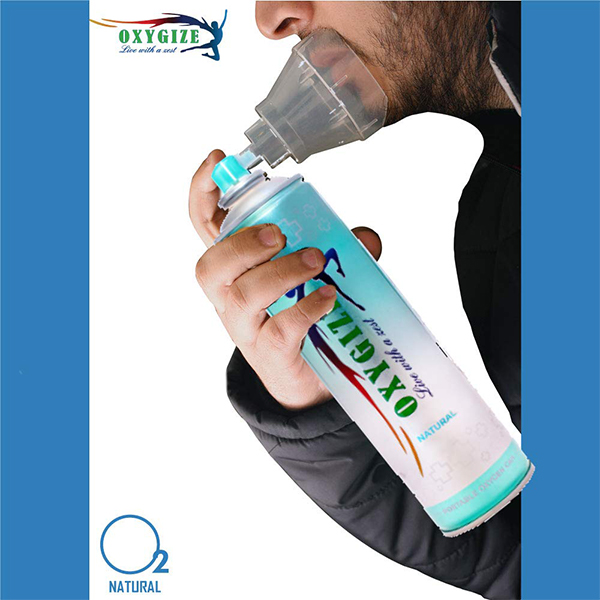 Oxygize Portable Natural Oxygen Can Cylinder Canister 1