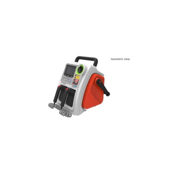 Dual powered Defibrillator 1