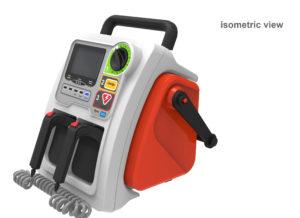 Dual powered Defibrillator