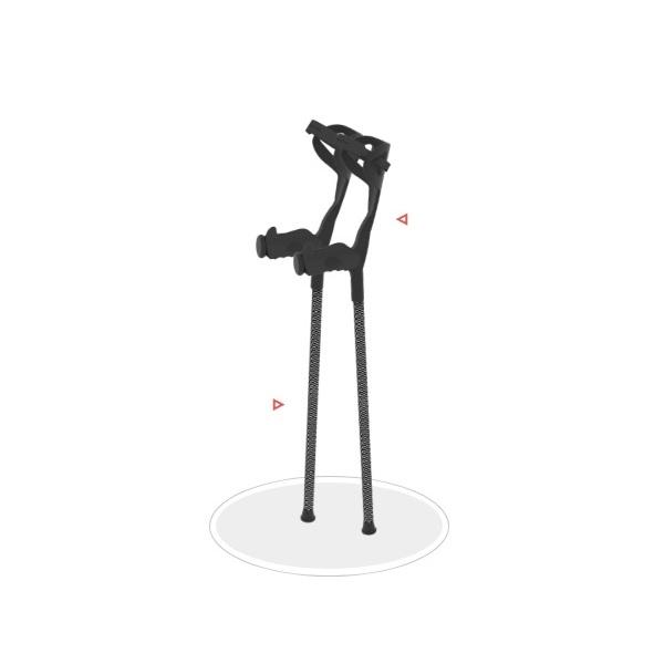 Flexmo Carbon Fibre Crutch