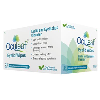Oculeaf Eyelid Wipes