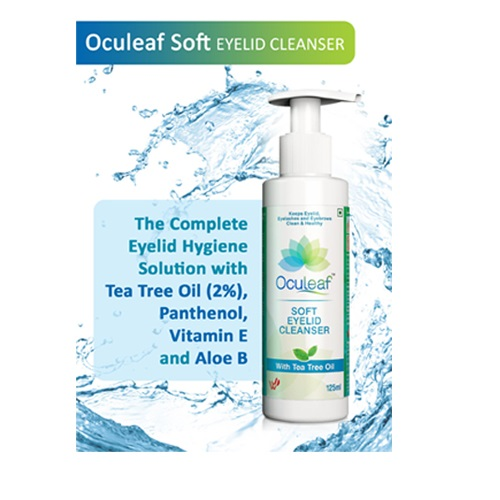 Oculeaf Soft Eyelid Cleanser 1