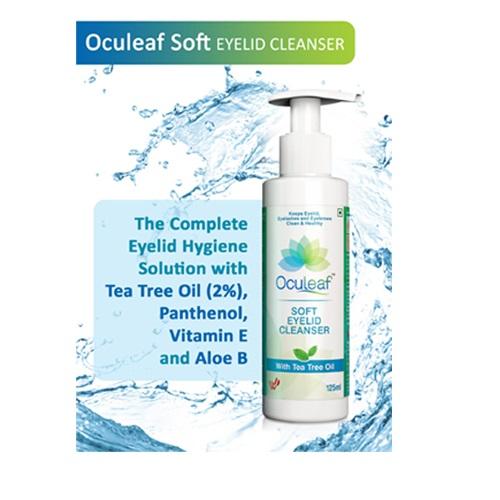 Oculeaf Soft Eyelid Cleanser 1