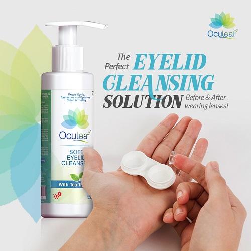 Oculeaf Soft Eyelid Cleanser 2