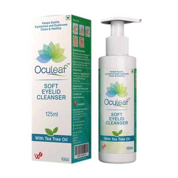 Oculeaf Soft Eyelid Cleanser 4