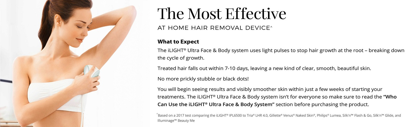 Remington iLIGHT Ultra Face and Body IPL Hair Removal System row 5