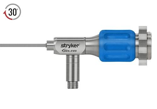 Stryker 2.7 mm 30o IDEAL EYES™ HD Autoclavable Stubby Arthroscope C Mount J Lock 75 mm