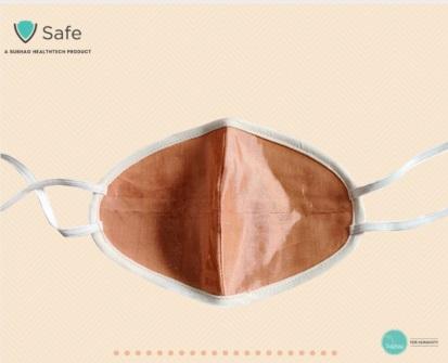 V Safe Copper Mask