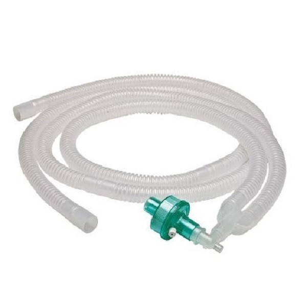 Ventilator Circuit With Hme Filter, Catheter Mount & Fixed Elbow Available Online At Medpick