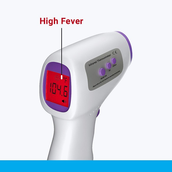 Zebronics Contactless Infrared Thermometer 6