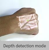 depth detection mode