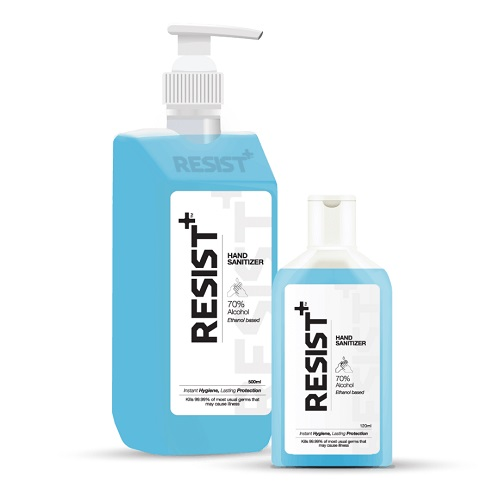 resist hand sanitizer