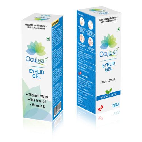 Oculeaf Eye Gel Packaging