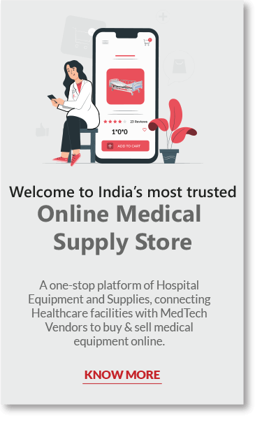 Online medical supply store banner