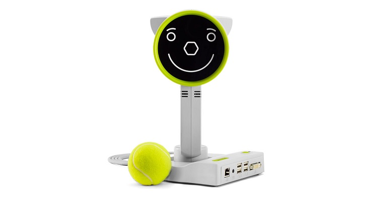 Plusoptix A16 front view with ball