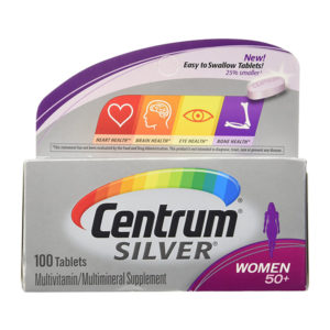 Centrum Silver 100 Tablets Women 50