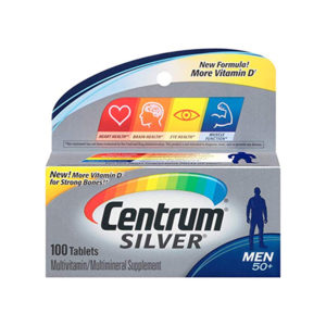 Centrum Silver Men s 50 Multivitamin 100 Tablets