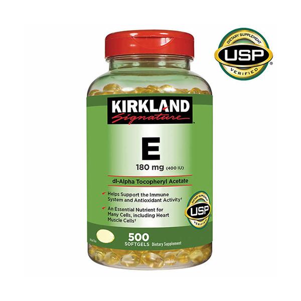 Kirkland Signature Vitamin E 180 mg