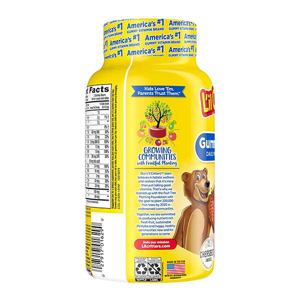 Lil Critters Gummy Vites Complete Multivitamin 190 Count 1