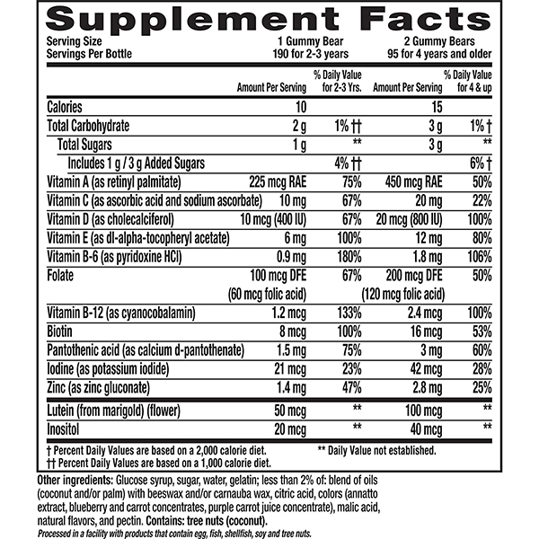 Lil Critters Gummy Vites Complete Multivitamin 190 Count 8
