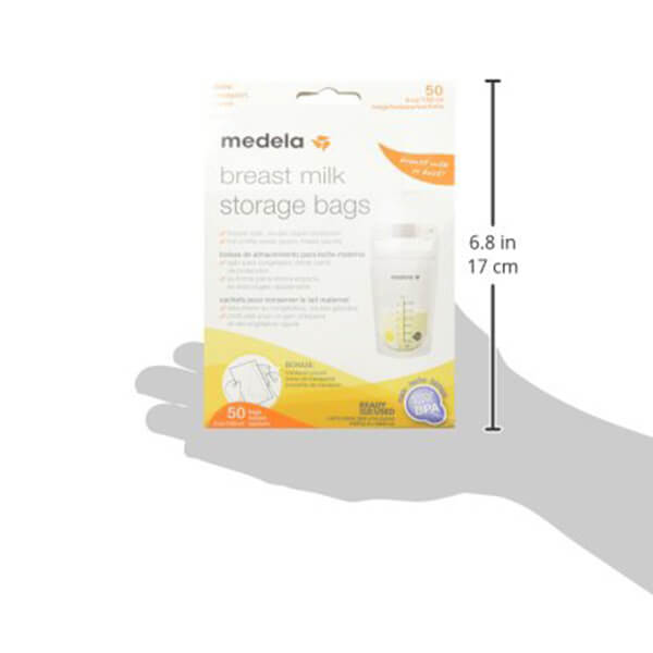 Medela Breat milk storage bags 50 count 3