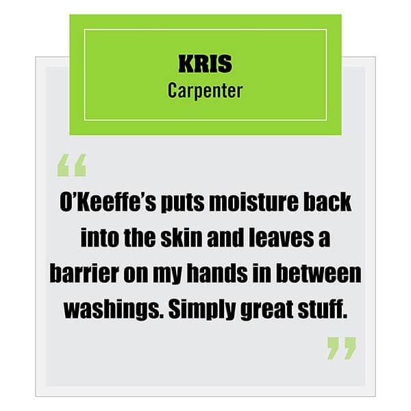 O Keeffe s® Working Hands 3.4 oz. Jar 5