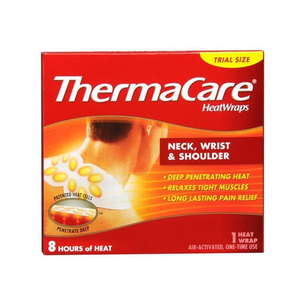 ThermaCare Neck Wrist Shoulder HeatWraps