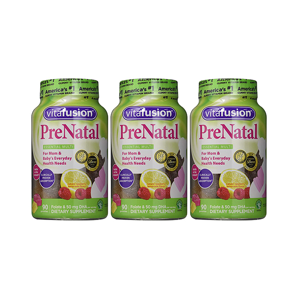 Vitafusion® 90 Count Prenatal DHA Folic Acid Gummy Vitamins 2