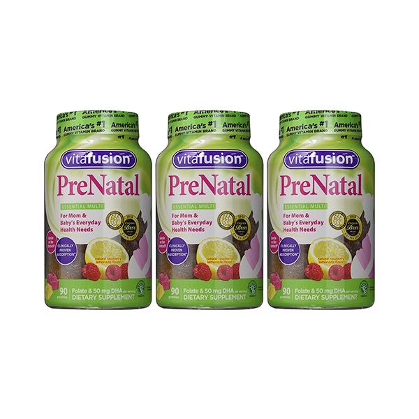 Vitafusion® 90 Count Prenatal DHA Folic Acid Gummy Vitamins 2