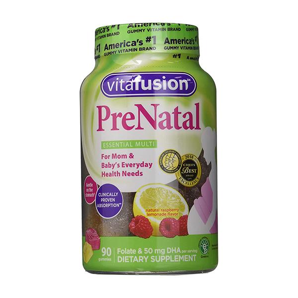 Vitafusion® 90 Count Prenatal DHA Folic Acid Gummy Vitamins