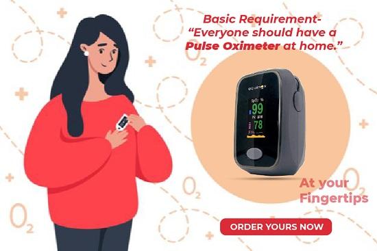 Pulse oximeter POPUP