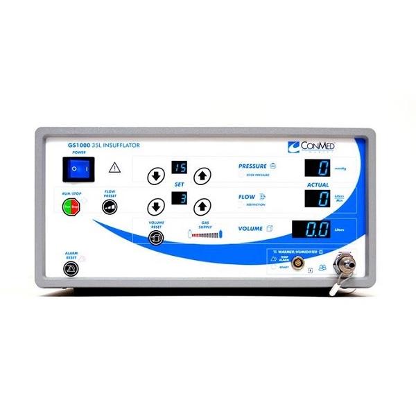 ConMed Linvatec 35 Liter Single Port Insufflator Blue