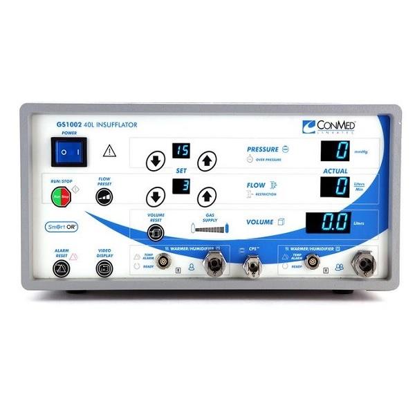 ConMed Linvatec 40 Liter Dual Port Insufflator Blue Face