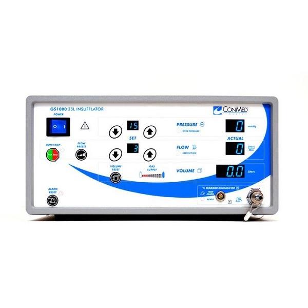 Cosmetic ConMed Linvatec 35 Liter Single Port Insufflator Blue 2