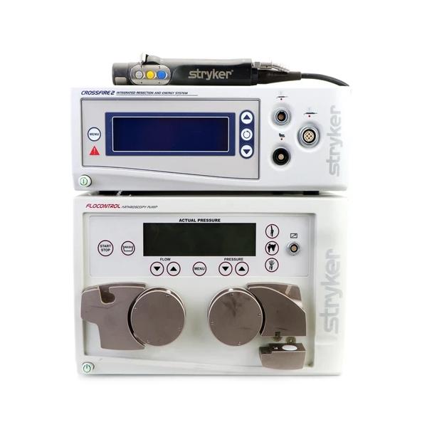 Crossfire 2 Integrated Arthroscopy Console with Formula CORE Shaver Handpiece and FloControl Arthroscopy Pump.webp
