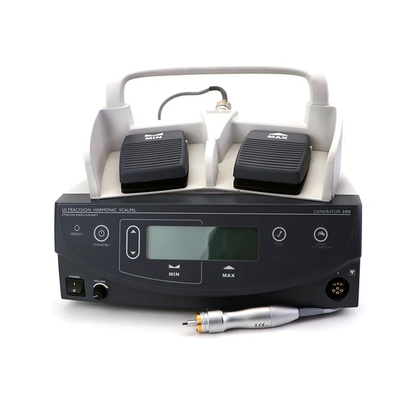Ethicon Gen 300 Harmonic Scapel with Foot Pedal and HP054 Handpiece.webp