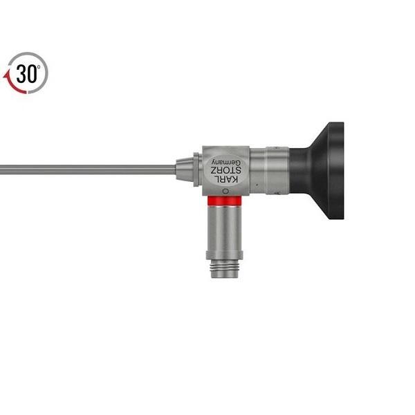 Karl Storz 2.4 mm 30° HOPKINS® II Autoclavable Telescope 10 cm Red
