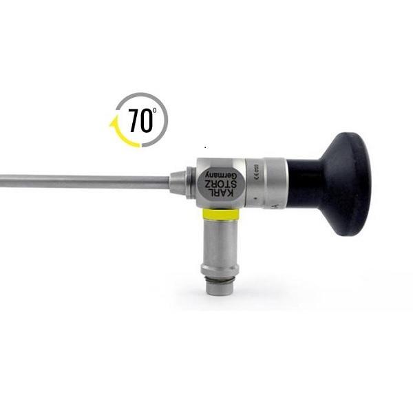 Karl Storz 4.0 mm 70o HOPKINS® II Autoclavable Telescope 18 cm Yellow