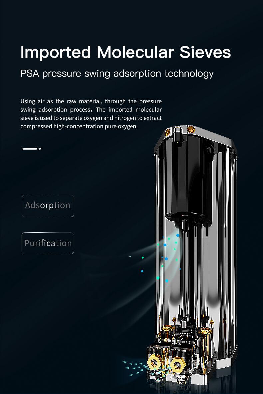 Oxygen concentrator model DE Y5AW 15