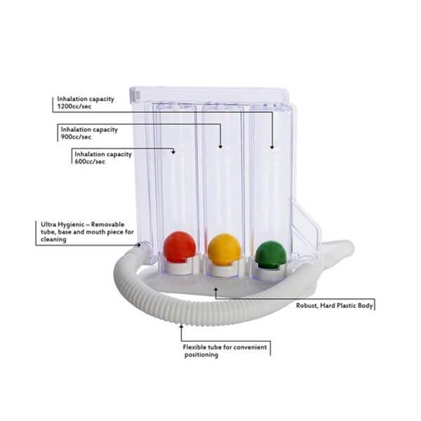 Primax Respirometer Spirometer Lung Exerciser 3