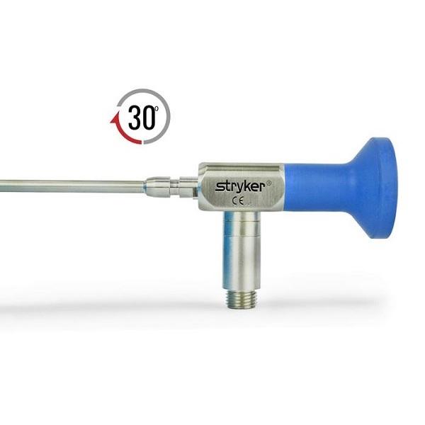 Stryker 4.0 mm 30° Autoclavable Reverse Cant Arthroscope Eyepiece Speed Lock™ 140 mm