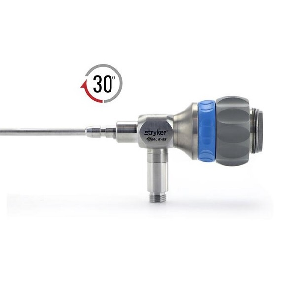 Stryker 4.0 mm 30o Precision™ IDEAL EYES™ HD Autoclavable Arthroscope C Mount Speed Lock™ Reverse Cant 140 mm 1