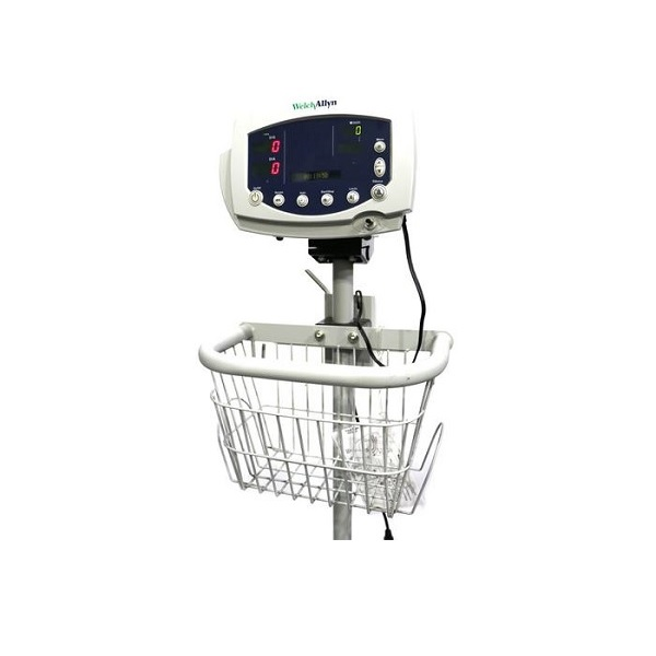 Welch Allyn 300 Series Vital Signs Monitor w Roll Stand