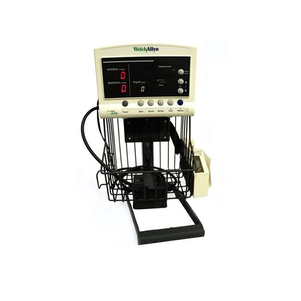 Welch Allyn 52000 Series Quick Signs Patient Monitor w Roll